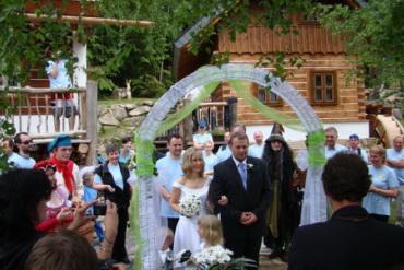 Pohádková vesnička a hotel Podlesí