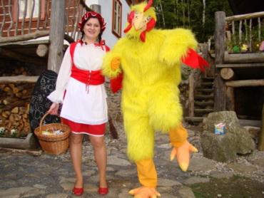 Barevné Velikonoce 2014 v Pohádkové vesničce